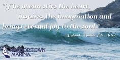 The #ocean stirs the heart!#HarbortownMarina #Boating
