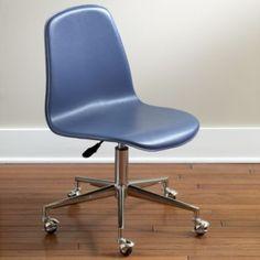 Desk Chair- Land of Nod- Class Act Desk Chair (Navy)