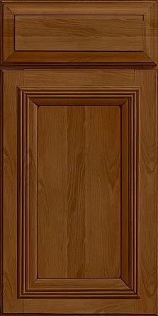Merillat Masterpiece Cabinetry-Marietta Hickory Rye With Onyx Glaze from waybuild Main Door, Glaze, Cabinets, Rye, Doors, Home Decor, Wood, Enamel, Armoires