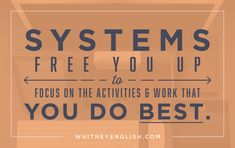 """The word """"systems"""" seems a lot more confusing and terrifying and super-official-sounding than it needs to be, don't you think? At least, that's the way I used to look at it. I was always a little intimidated by systems, and what seemed the near-constant, not-so-gentle suggestions that I needed systems in my business and in …"""