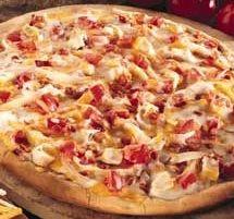 Receta de Pizza ranchera de dificultad Fácil para 2 personas lista en 15 minutos.