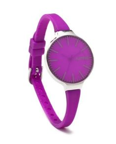 RumbaTime Women's 10401 Orchard Grapesicle Modern Stylish Analog Watch RumbaTime. $30.00. Water-resistant to 30 M (99 feet). 1 year warranty. Japanese quartz movement. Flex silicone bankd. Ultra lighweight (20 grams)