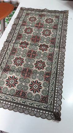 Cross Stitch Embroidery, Cross Stitch Patterns, Bohemian Rug, India, Rugs, Cross Stitch, Farmhouse Rugs, Goa India, Rug