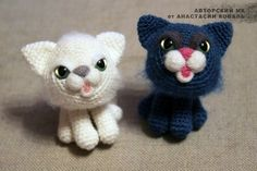 Kitty Cat Amigurumi - FREE Crochet Pattern / Tutorial