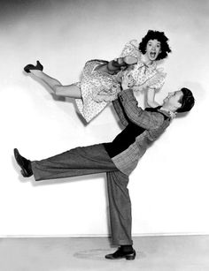 "Donald O'Connor and Peggy Ryan, publicity shot for ""Bowery to Broadway"" (1944)"