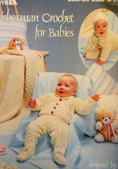 This is a pattern book from Leisure Arts, leaflet 2793.  It has 6 crochet patterns for baby afghans..  The yarn used is a sport weight yarn.