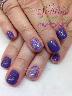 Gel Nails by Sublime Nails~ www.sublimenails.ca #GelNails #NailArt