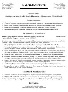 Assembly Line Worker Resume Amusing Job Objective  Pinterest  Sample Resume And Resume Examples