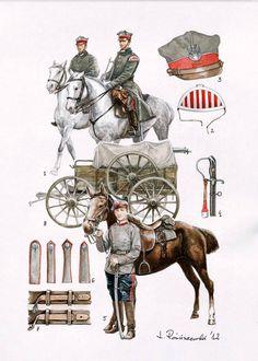Mundur i broń Wojsk Wielkopolskich 1918/20 Military Diorama, Military Art, Military History, Poland Ww2, Independence War, Punic Wars, Russian Revolution, World War I, Dieselpunk