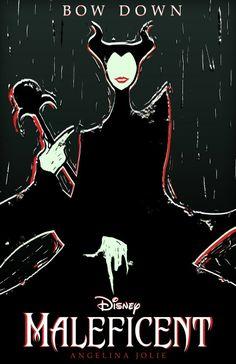 You Heard the Lady!  Maleficent fan art