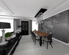 Jadalnia styl Glamour - zdjęcie od STUDIO WHITE Architektura Wnętrz