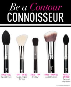 We have the BEST brushes to contour! Which is your favorite? #contour #brushes