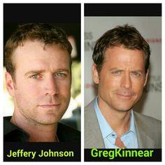 Jeffery Johnson and Greg Kinnear