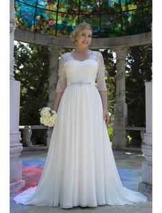 Venus Woman Bridal VW8744 Plus Size Bridal Gown $778 No size upcharges & free shipping