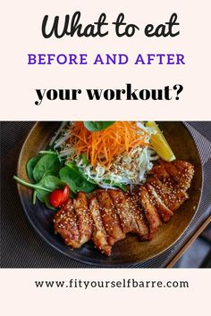 When it comes to pre or post-workout food, nutrition is essential for optimal results! Our body is like a plant that needs constant watering and rich nutrients to grow healthy! #selfcare #healthytips #barreworkout #barrefitness #workouttips #nutritiontips #nutrition #fitness Healthy Food Habits, Good Healthy Snacks, Healthy Diet Recipes, Healthy Recipes For Weight Loss, Healthy Breakfast Recipes, Healthy Eating, Post Workout Food, Mindful Eating, Dessert Bars