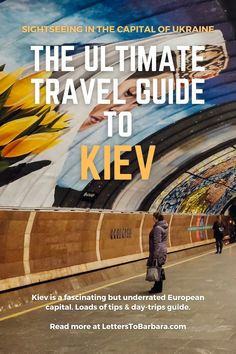 Kiev (Kyiv) is one of the most beautiful European capitals. However, the city remains undiscovered by travelers. In this travel guide, I'm writing about the best things to do in Kiev and I also include useful tips for accommodation and the best food spots in Ukraine's capital. #Kiev #Kyiv #Ukraine #travel #traveltips #adventure #wanderlust #blog European Travel Tips, Europe Travel Guide, Europe Destinations, Travel Guides, Flight Attendant Humor, Road Trip, Travel Images, Ultimate Travel, Beautiful Places To Visit