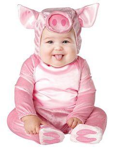Vestito di Carnevale da maialino