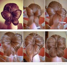 Amazing Butterfly Hairstyle