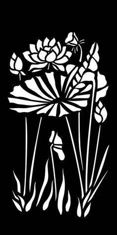 Stencil Patterns, Stencil Designs, Wall Art Designs, Stencil Printing, Stencil Art, Lotus Vector, Vector Art, Cnc Cutting Design, Lotus Art