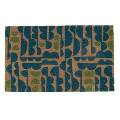 doormat from angela adams.