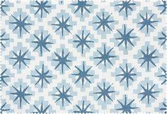 "Starburst  Peter Dunham    Colorway: SB01-North    Material: 100% Linen    Repeat: 10 1/2"" H x 25"" V"