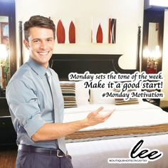 Set a positive look at life and you will have a great week! #MondayMotivation #LeeBoutiqueHotel