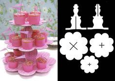Cupcake stand template
