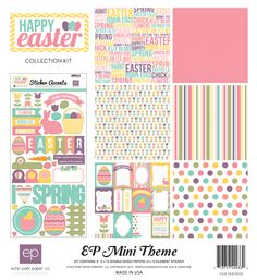 Echo Park's Easter Mini Collection