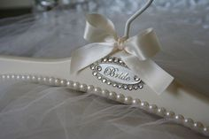 CUSTOM BRIDAL HANGERS FOR YOUR WEDDING GOWN FROM BLACKBOWHANGERS.COM hangers.www.blackbowbrida...#weddingdresshangers#weddingdresses #wedding#weddingdress #weddinghanger#bridalgownhanger #bridal#hangers #weddinggownhanger #weddinggownhanger