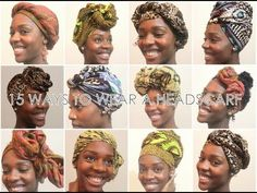 How To: 15 Ways To Wear a Headscarf - YouTube