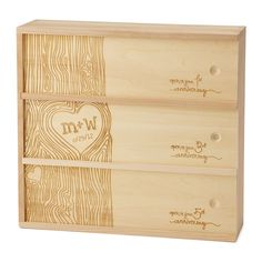 ANNIVERSARY WINE BOX | Personalized Wedding Wine Box | UncommonGoods