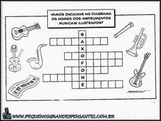 Atividades sobre música para Educação Infantil