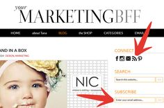 Drive more traffic to your site :: Match your email to your brand. Have email sign ups on your site!