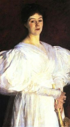 It's About Time: Portrait of Mrs. Frederick Barnard by John Singer Sargent