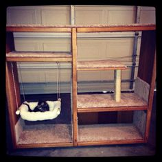 My cats love their playhouse so much, I decided to make some to sell. DIY, reuse, repurpose, pet, entertainment