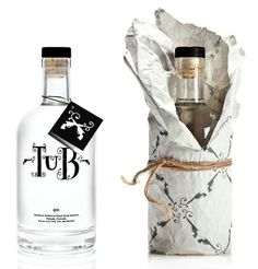 Tub Gin alcohol packaging