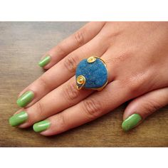 Statement Ring Druzy Rings Cocktail Ring Stacking by FootSoles, $28.50