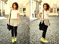 Neon Touch  (by Clémentine Collinet) http://lookbook.nu/look/3587315-Neon-Touch