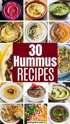 30 Homemade Hummus Recipes You'll Want To Eat All Day 30 Most amazing and easy hummus recipes that you need to make! These homemade hummus recipes are healthy, tasty and super easy! Easy Healthy Recipes, Healthy Snacks, Vegetarian Recipes, Easy Meals, Healthy Eating, Cooking Recipes, Vegan Avocado Recipes, Healthy Food Blogs, Dinner Healthy