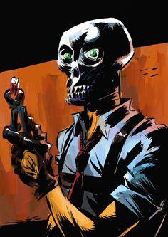 Black Mask by Ultimateskull