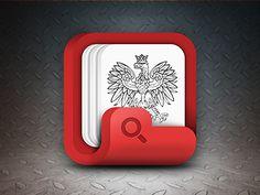 Dribbble - KRS App Icon by Sebastian