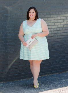 @emilyjoanho in a @csiriano for @lanebryant dress