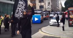 """Thousands of Muslims shouting against the Jews, calling for jihad and shouting Allah Akbar, this is what happens in London. Share this video and show the world the real danger of radical Islam. (These """"people"""" are evil incarnate and they are arriving in our borders with this evil hatred ruling what is supposed to be their hearts. Demons in the flesh is Islam.)"""