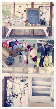 Bohemian country Virginia wedding: Emily + Jeremiah | Real Weddings | 100 Layer Cake
