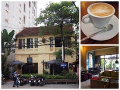 Cafes in Hanoi for writers and #digital #nomads.