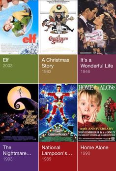 I have seen all of these except for The Nightmare Before Christmas.