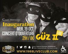 Inauguration Court Métrange 2016 - Concert d'ouverture GÜZ II - http://www.unidivers.fr/rennes/inauguration-court-metrange-2016-concert-douverture-guz-ii/ -