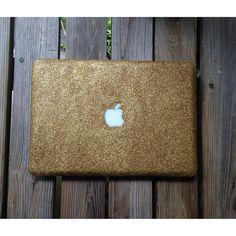 Glitter MacBook Pro Case by ShopMugShot on Etsy, $47.00