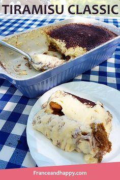 Voici ma recette de Tiramisu classic, une TUE-RIE gustative ! Ce desert régale toute la famille, cette mousse, ce chocolat... A TESTER !