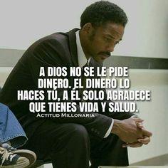 A Dios no se le pide dinero #emprende #crea #trabaja